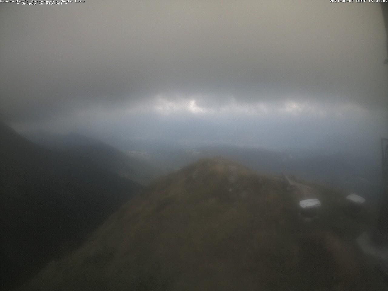 Webcam Le Pleiadi.ch vista ad est